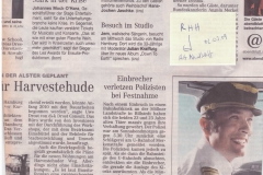 090302 Zeitungsnotiz Hamburger Abendblatt Jem zu Gast bei Krafftzig