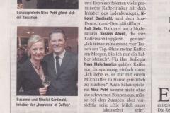 100120 Zeitungsnotiz Hamburger Abendblatt Jura Kaffee Sarah + Julian