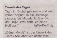 120118 Welt Kompakt Twitter-Zitat Krafftzig