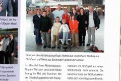 Flugblatt Stuttgarter Flughafen März 2004 Muttertag