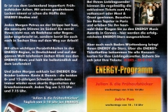 Flyer ENERGY Stuttgart 2002